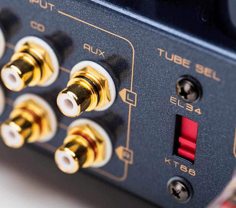 WILLSENTON R8 Amp integrado a Válvulas Cs55a-5